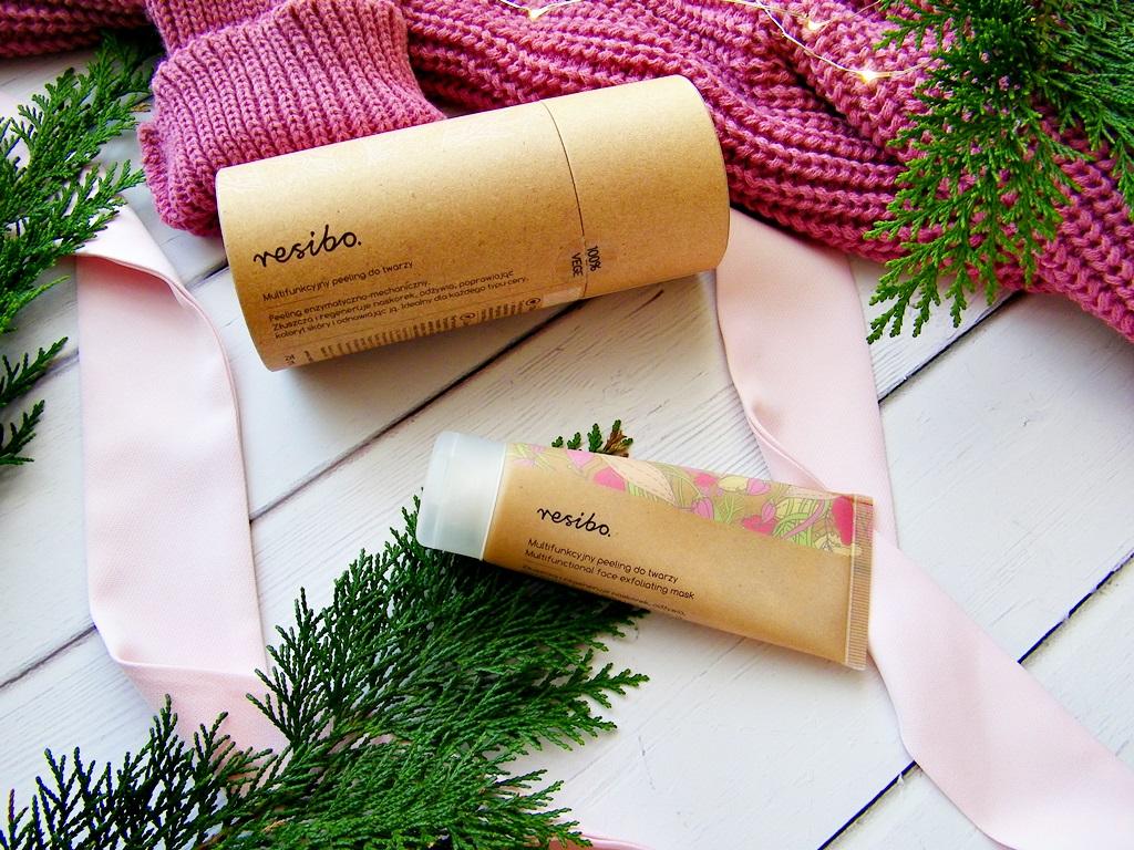 Kosmetyki Resibo - naturalna pielęgnacja skóry. Multifunkcyjny peeling do twarzy