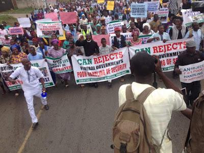 Herdsmen Killings: Protests, Prayers In Benue, Ibadan, Lagos