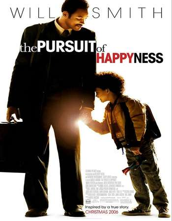 Poster Of The Pursuit of Happyness 2006 Dual Audio 720p BRRip [Hindi - English] ESubs Free Download Watch Online Worldfree4u
