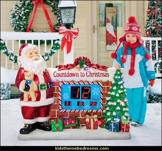 Santa's Countdown to Christmas Digital Sculpture   Santas shopping mall - Christmas gifts - Christmas shopping - Christmas decorations - Christmas decorating - gift ideas for mothers - gifts for men - gift ideas for women -  gift ideas for girls - gift ideas for boys - Christmas decorating - Santa Clause - Stocking Stuffers - Secret Santa
