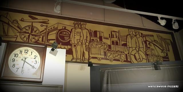Warszawa Warsaw Wola Towarowa Muzeum Kolejnictwa transport dekoracja