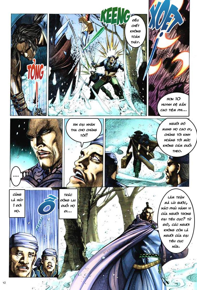 Anh hùng vô lệ Chap 6: Anh hùng hữu lệ trang 12