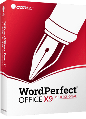 WordPerfect Office X9 - Professional Edition,, The Legendary Office Suite