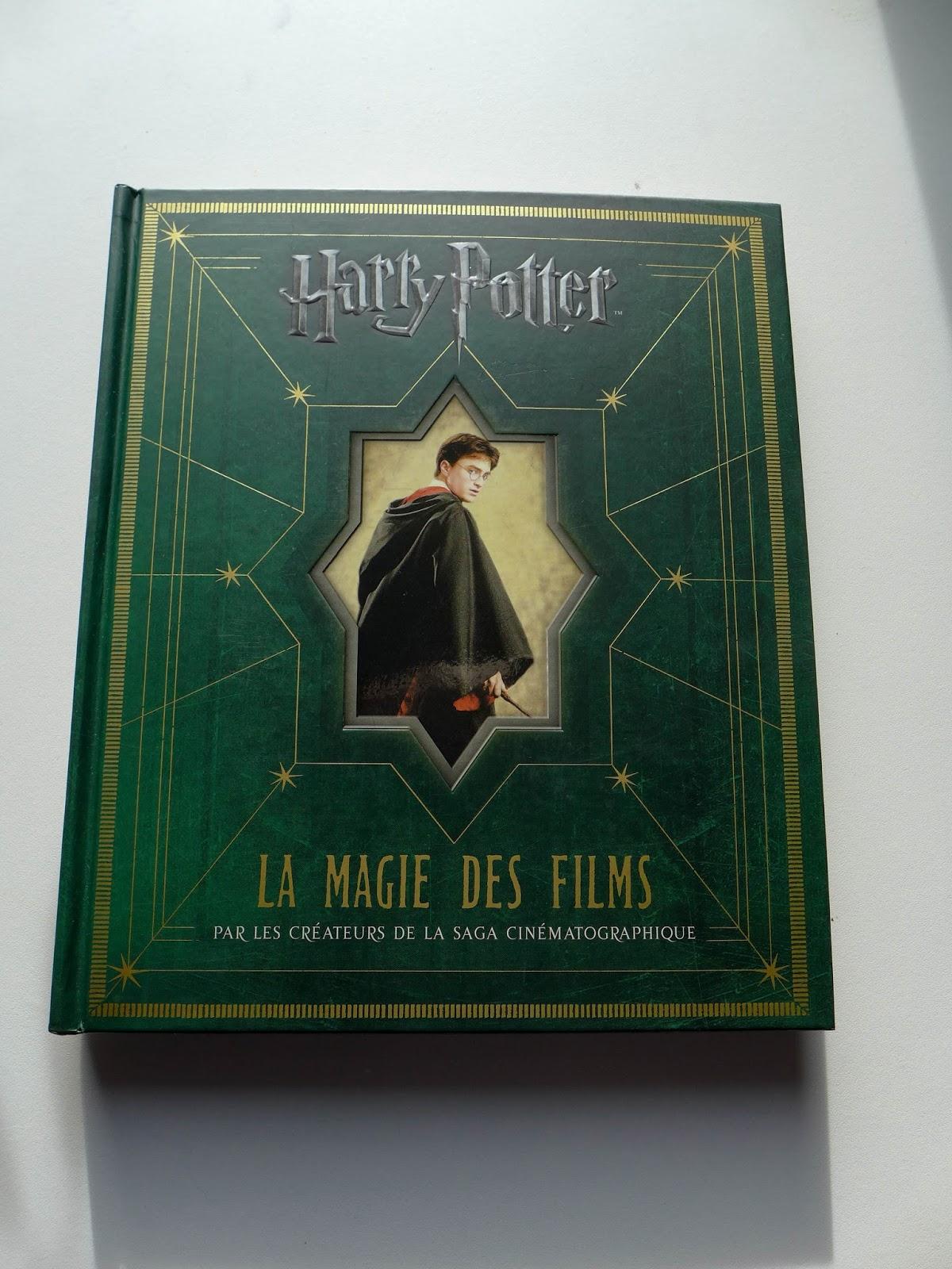 couverture la magie des films harry potter
