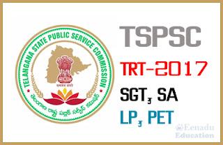 TSPSC invites applications for Teacher Recruitment Test (TRT) to fill 8792 vacancies