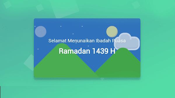 Cara Memasang Ucapan Marhaban Yaa Ramadhan di Blog