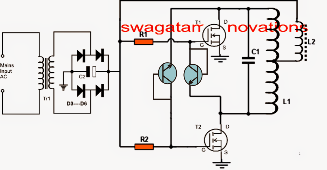 induction cooker circuit