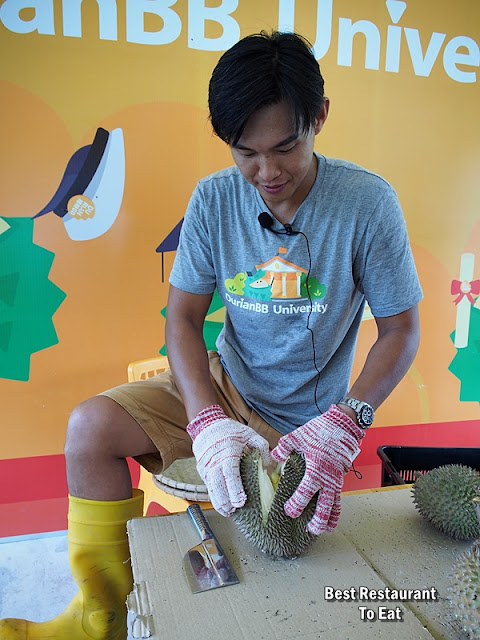 Learn How to Choose Open A Perfect Durian