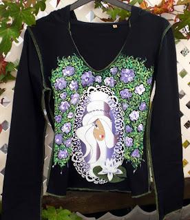 Camisetas pintadas a mano con diseño muy originales en talentox2moda
