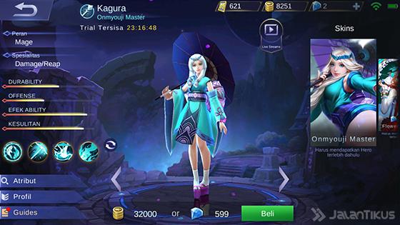 Guide Agar Selalu Menang Menggunakan Kagura di Mobile Legend