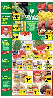 Food Basics Flyer August 17 - 23, 2017