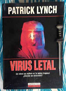 Portada del libro Virus letal, de Patrick Lynch