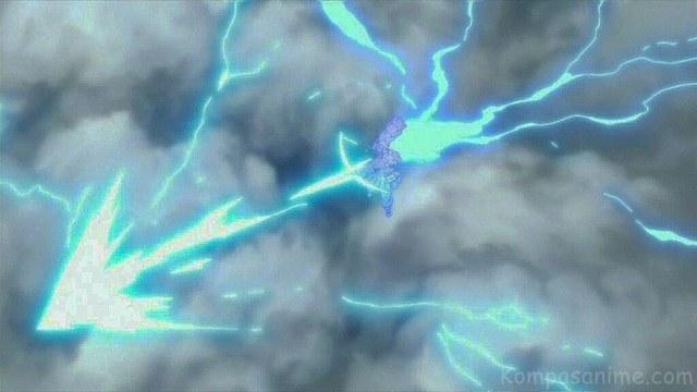 Jutsu Terkuat milik Sasuke setelah mendapatkan setengah kekuatan Hagoromo