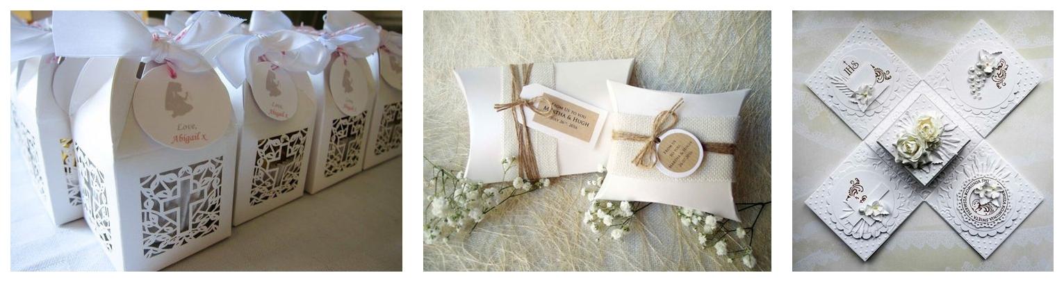 3 pomysł na prezent dla gości komunijnych pudełeczka na prezenty partybox cena duży wybór gdzie kupić białe ornamentowe złote komunia