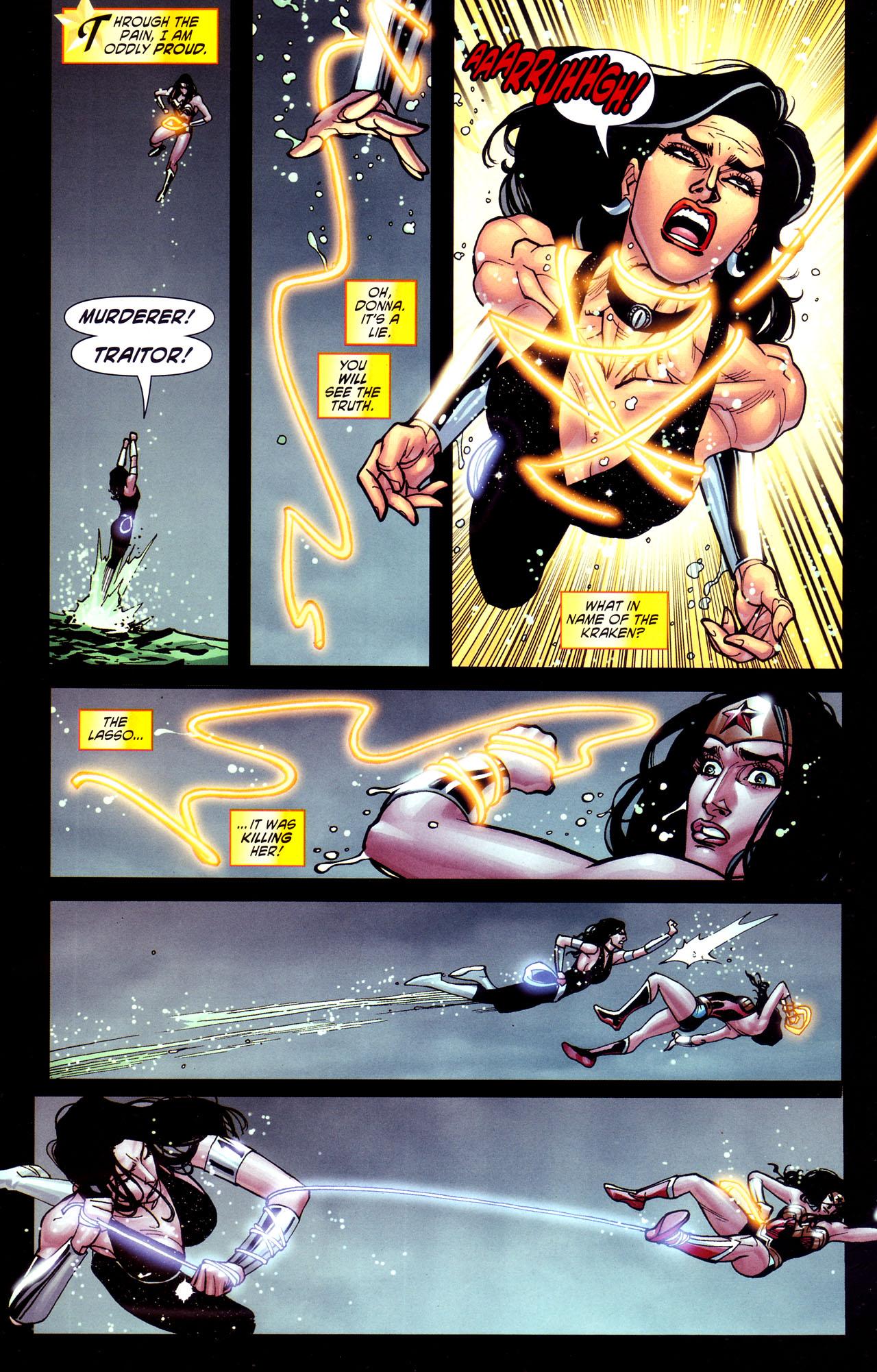 Read online Wonder Woman (2006) comic -  Issue #37 - 19