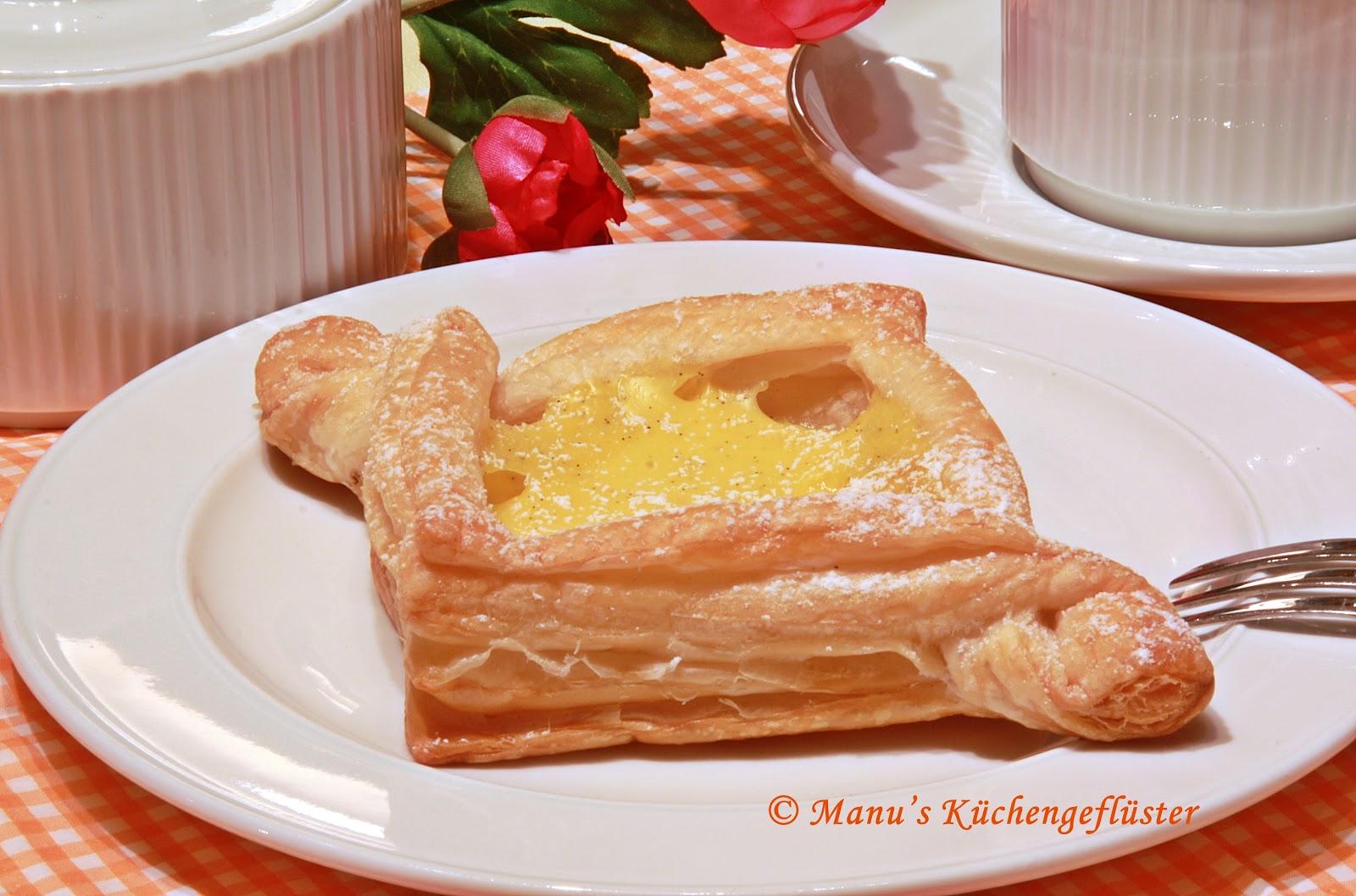 Manus Küchengeflüster: Süße Stückle mit Pudding