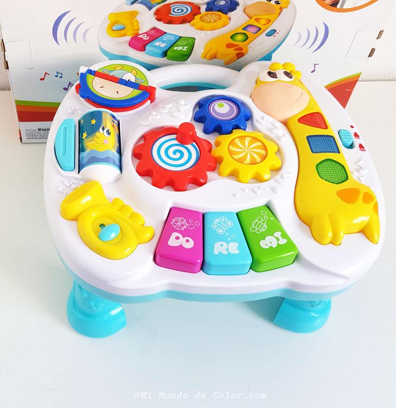 recomendaciones en mesitas interactivas para niños