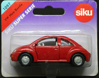 Siku - 1097 VW New Beetle, 吸塑包裝