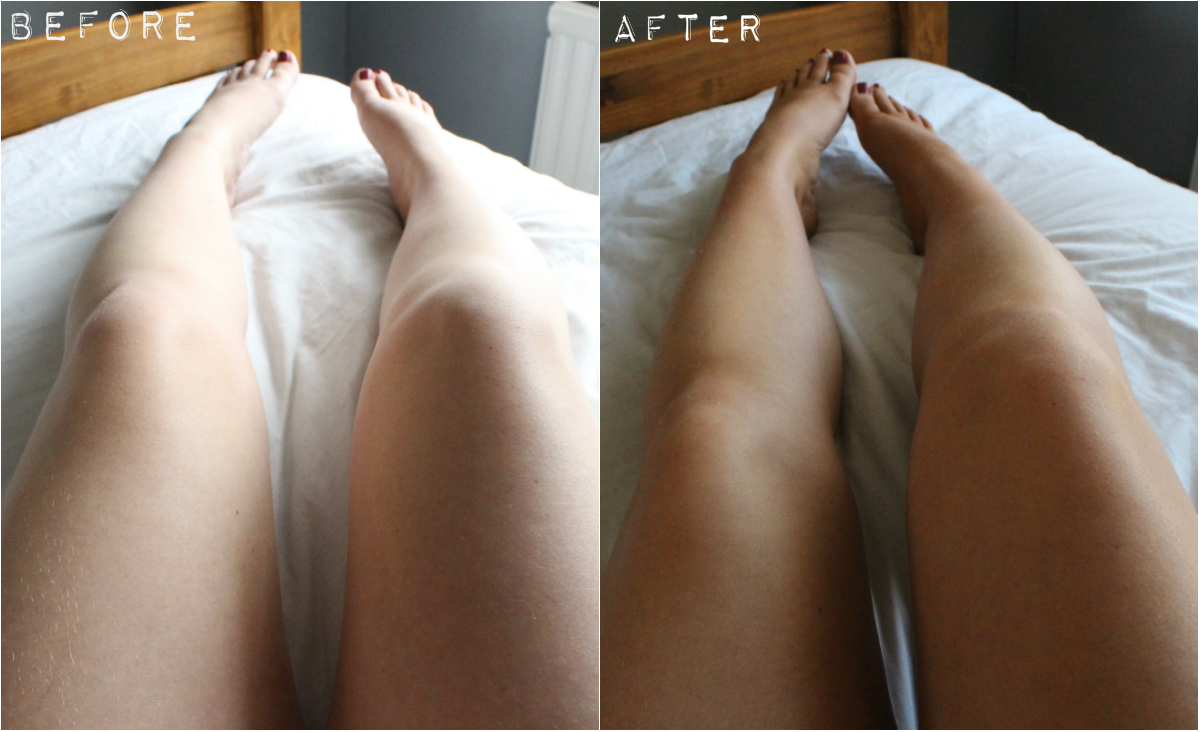 bondi sands tanning foam before and after