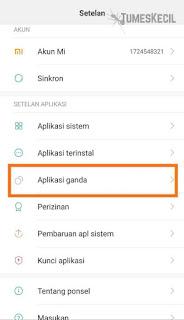 Clone app adalah suatu fitur yang memungkinkan kamu memiliki  Cara Menggandakan Aplikasi Tanpa Aplikasi (MI Only)