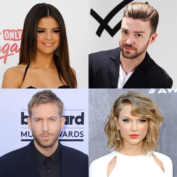 Taylor Swift, Selena Gomez, Calvin Harris y Justin Timberlake estarán en los iHeartRadio Music Awards