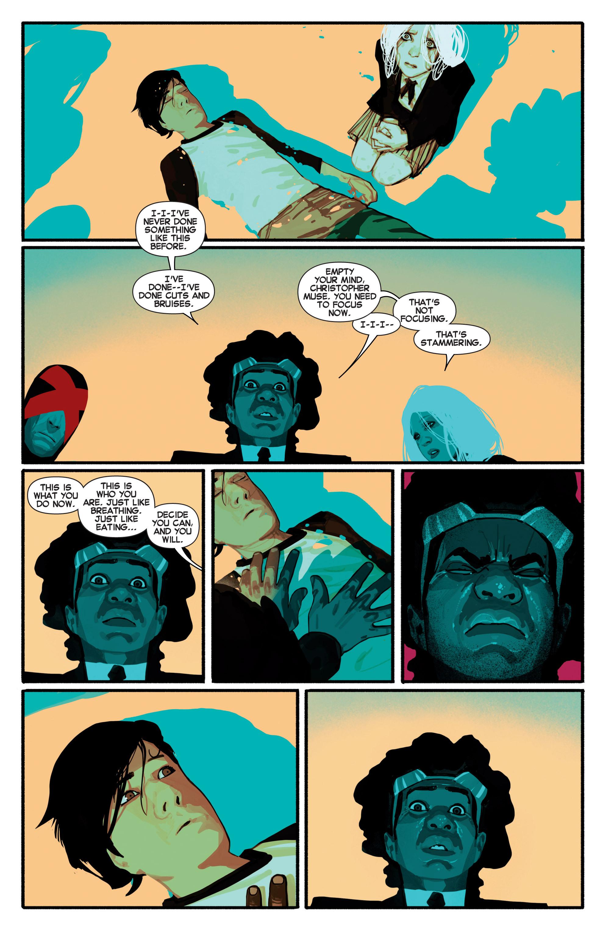 Read online Uncanny X-Men (2013) comic -  Issue # _TPB 2 - Broken - 35
