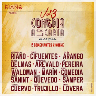 Festival COMEDIA A LA CARTA 2018 VOL. 3
