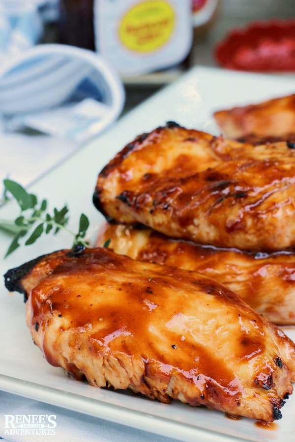 Italian BBQ Grilled Chicken | Renee's Kitchen Adventures