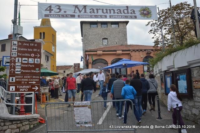 43.Lovranska Marunada – Tradicionalni lovranski festival maruna, 23.10.2016