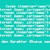 Kode Symbol Dan Karakter Khusus Pada HTML
