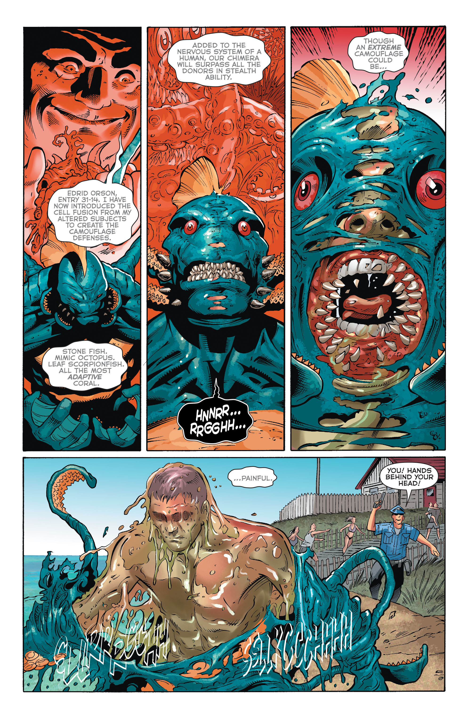 Read online Aquaman (2011) comic -  Issue #33 - 11