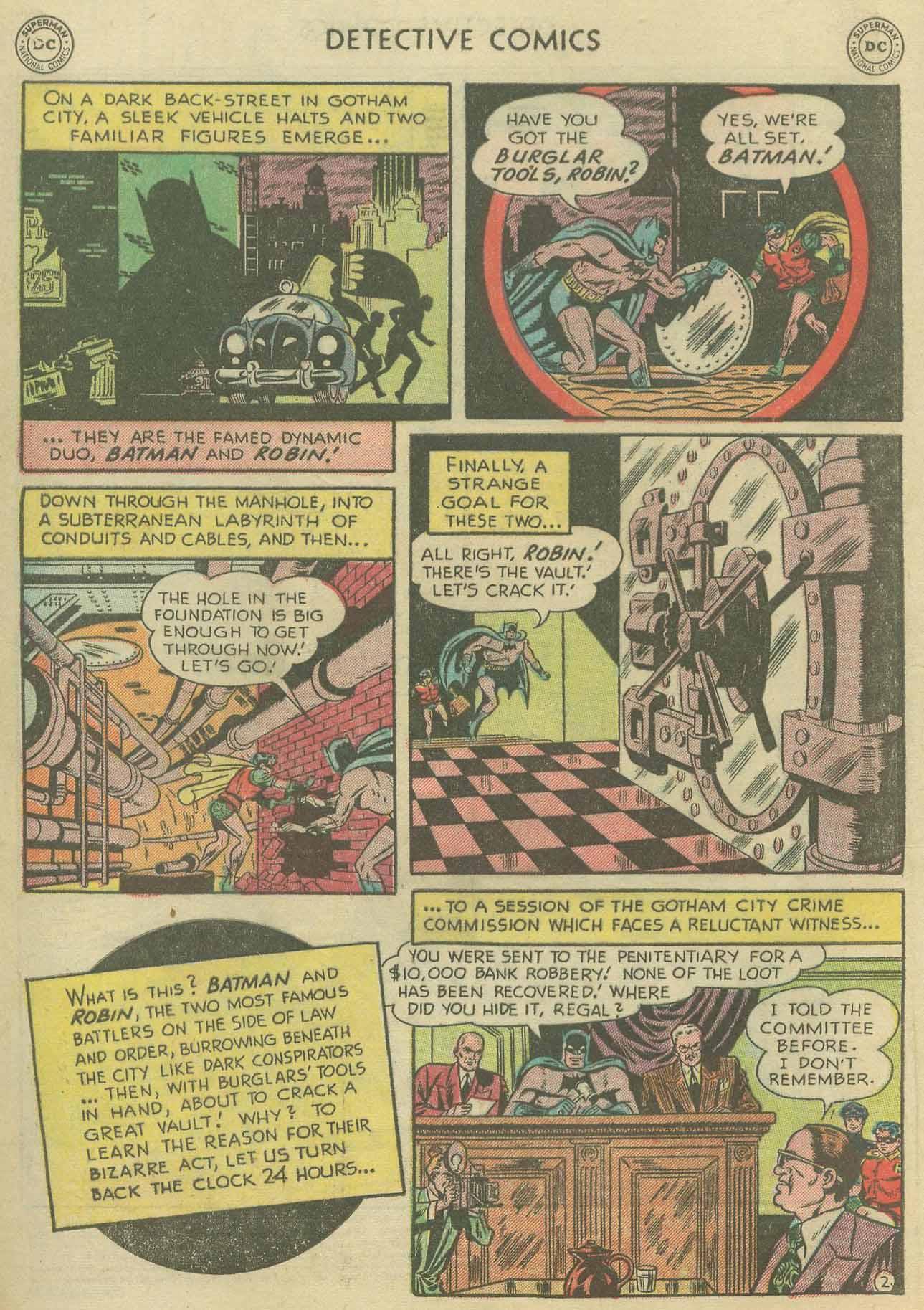 Detective Comics (1937) 175 Page 3