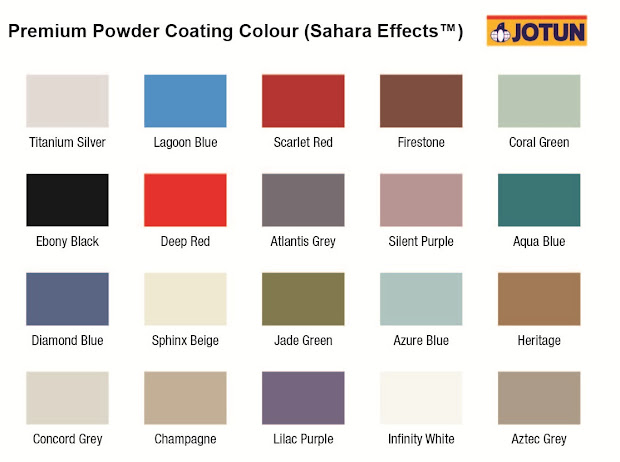 Jotun Paint Color Chart - Year of Clean Water
