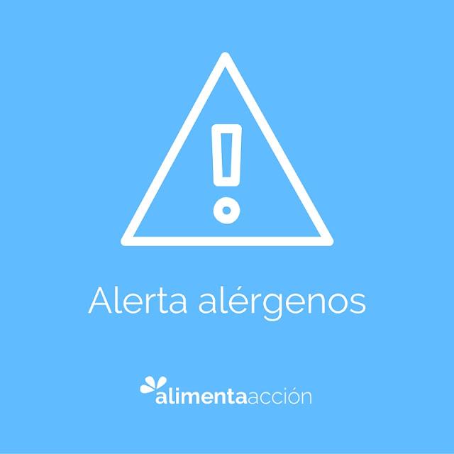 alerta, alerta alimentaria, leche, alérgenos, seguridad alimentaria, alimentación,salud