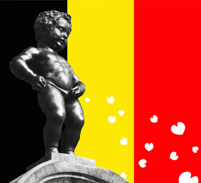 #PrayForBrussels Let's Show The World That We Are UNITED! - #36 ☮ Manneken Peace ☮