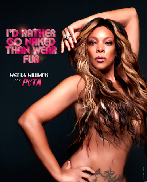 Wendy Williams goes nude for PETA