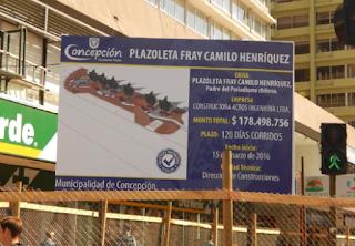 Consejo Regional BioBío: Plazoleta Fray Camilo Henríquez y lanzamiento Fondo Medios 2016