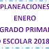 PLANEACIÓN (enero) 2° PRIMARIA CICLO ESCOLAR 2018-2019.
