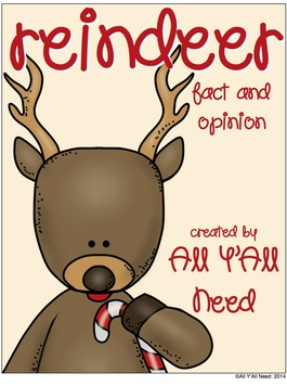 Reindeer Facts & Opinions by All Y'all Need