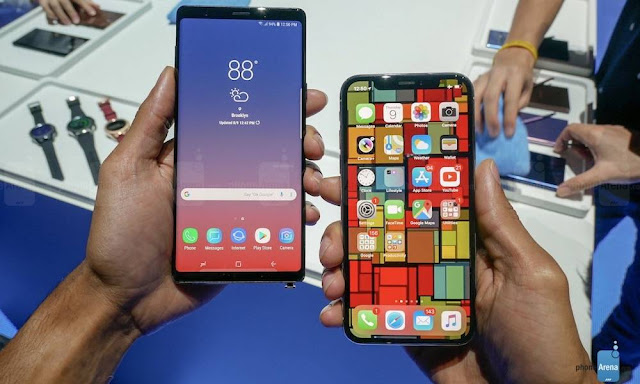 iPhone X Puts Samsung Galaxy Note 9 to Shame in First Benchmarks