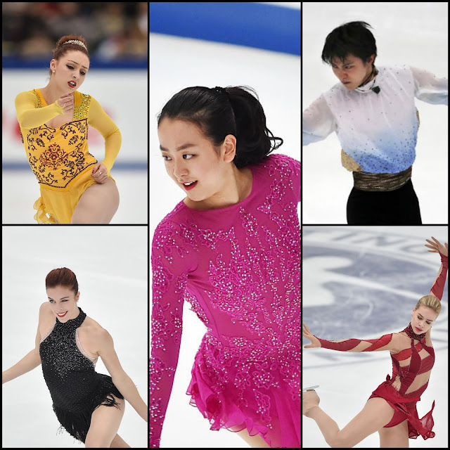 ICE STYLE.....NHK Trophy 2015 Figure Skating Costumes Recap! LADIES, MEN, PAIRS