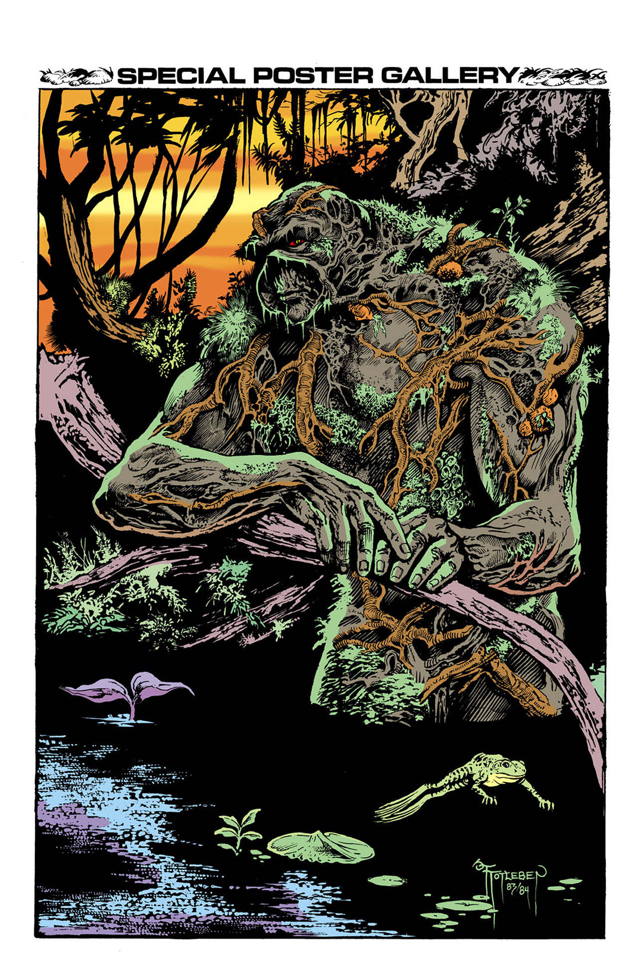 Swamp Thing (1982) Issue #33 #41 - English 22