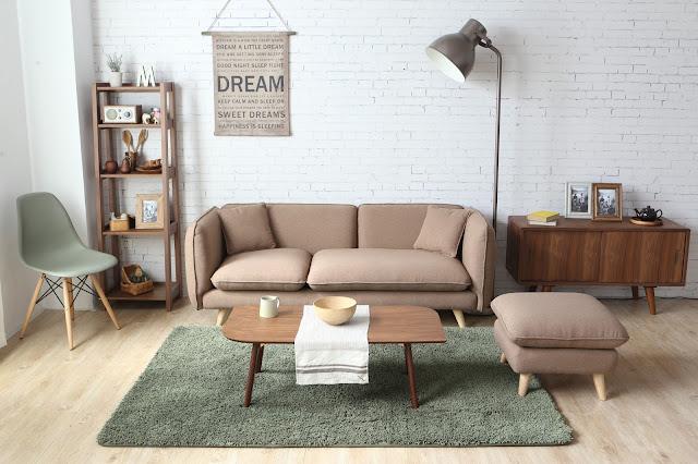 Sofás nórdicos para decorar tu salón