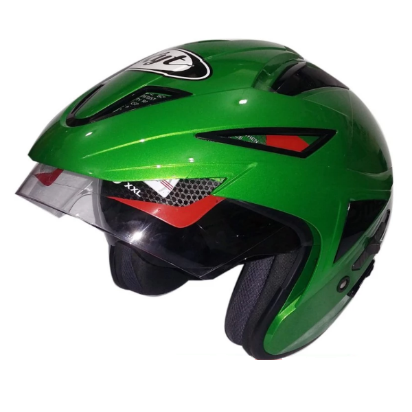 KYT Skorpion King Green Kawasaki Solid