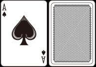 딜러의 오픈 카드가 Ace일 경우 플레이어는 베팅액의 절반 내에서 보험금을 걸 수 있다.