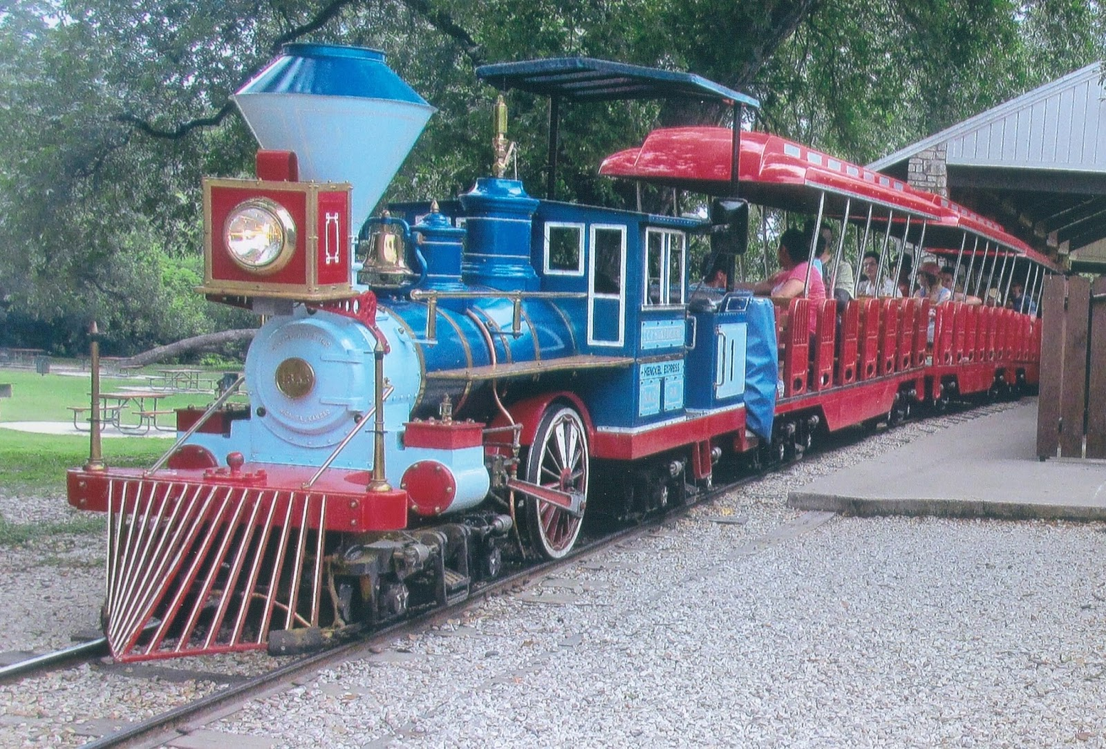 Eddie S Rail Fan Page The San Antonio Zoo Train San
