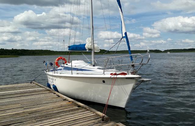 Mazurski jacht