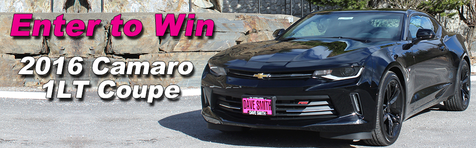 Dave Smith Motors 2016 Chevy Camaro Giveaway