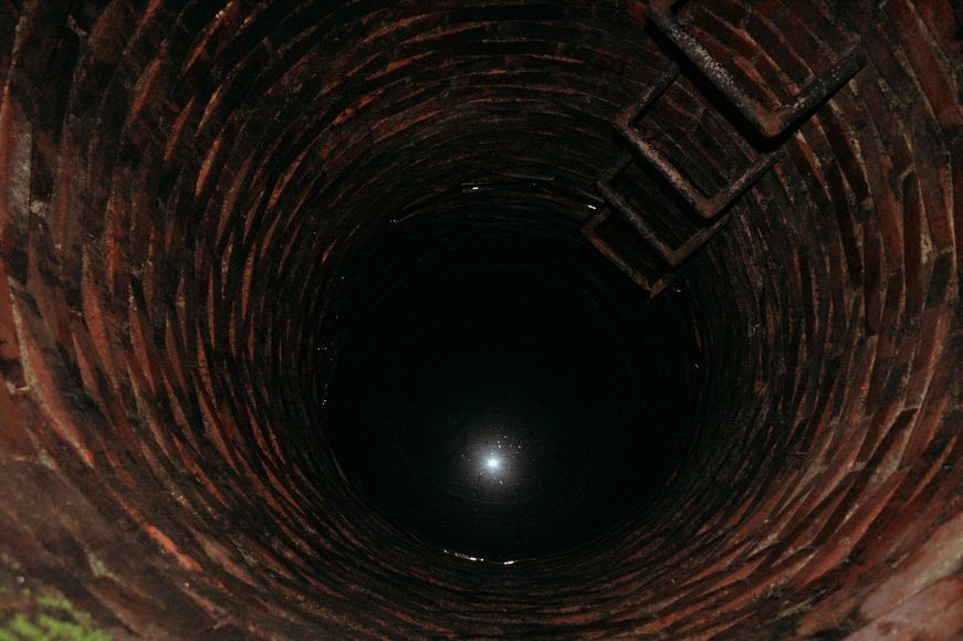 An old well in Intramuros