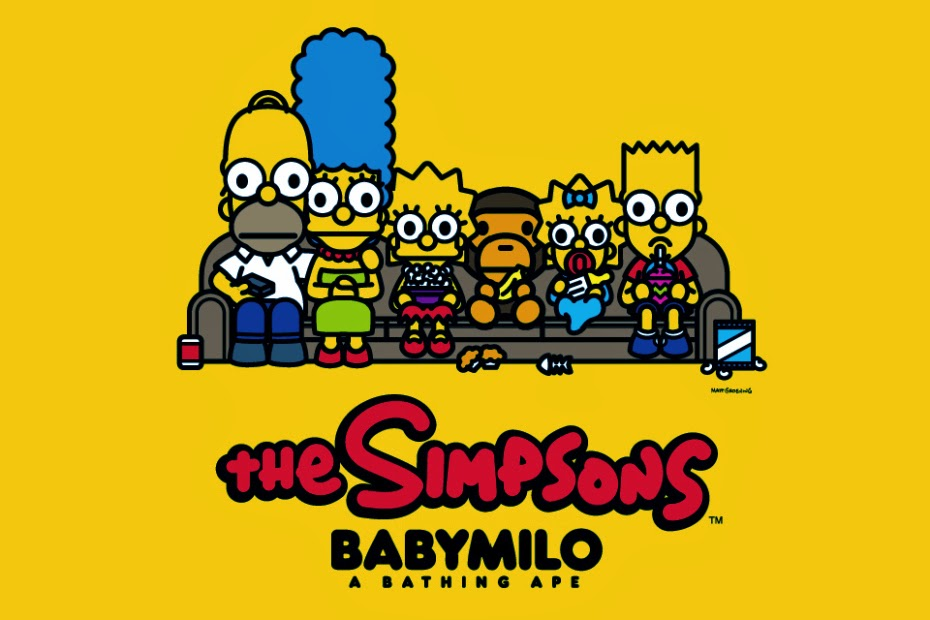 30737c5f The Blot Says...: The Simpsons x BAPE T-Shirt Collection